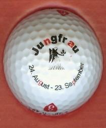 Golfball: Tierkreiszeichen -- Jungfrau