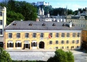 Postkarte: Mozarts Wohnhaus