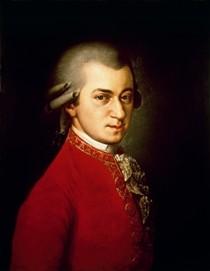Poster: Porträt  W. A. Mozart