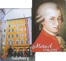 Magnet: Hologramm Mozart / Geburtshaus