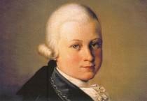 Postkarte: Mozart in Verona