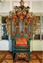 Postkarte: Orgel
