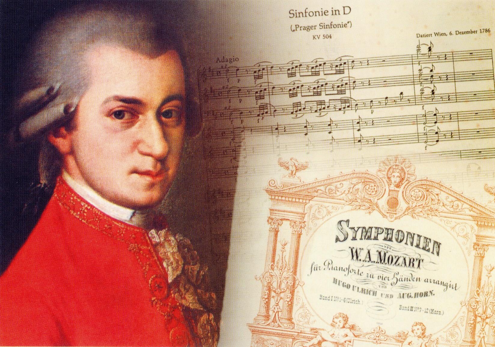 Poster: Mozart Symphonien