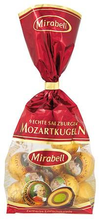 9 Mozartkugeln im Säckchen