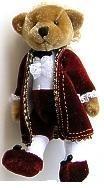 Mozart teddy bear: small