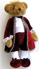 Mozart teddy bear: mini