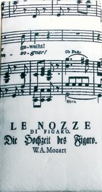 paper handkerchiefs: Le Nozze di Figaro