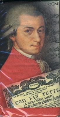 paper handkerchiefs: W. A. Mozart