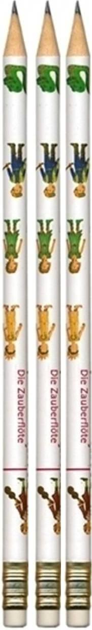 Bleistift: Zauberflöte mit Radiergummi
