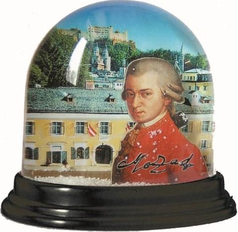 Schneekugel: Original Mozarthaus