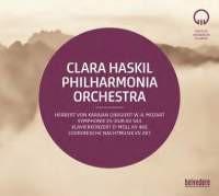 2-CD-SET Mozart: Clara Haskil - Philharmonia Orchestra - Herbert von Karajan