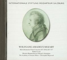CD Mozart: Klavierkonzerte KV 450 & KV 537