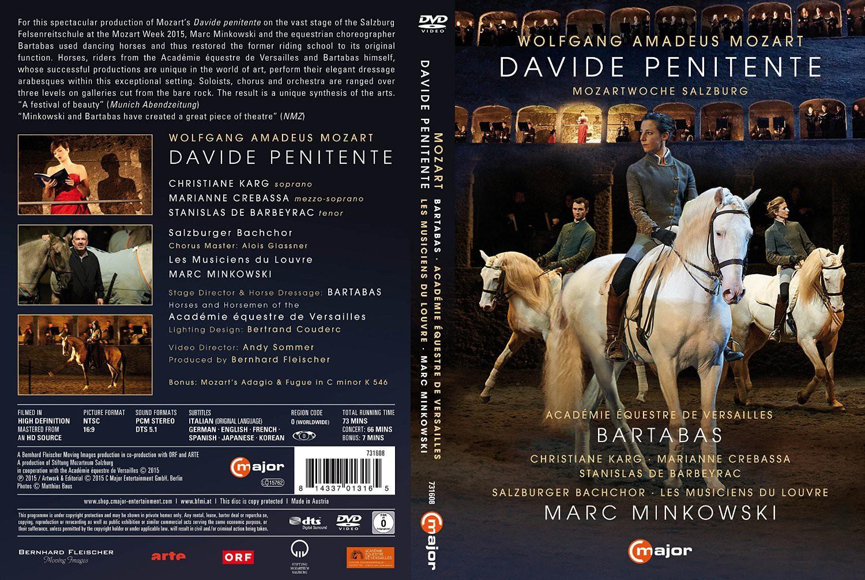 Davide Penitente Mozartwoche 2015  DVD