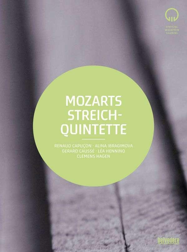 DVD Mozarts String quintet (Mozart week festival 2014)