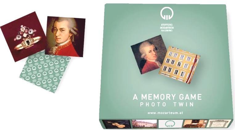 Memoryspiel Mozarthaus
