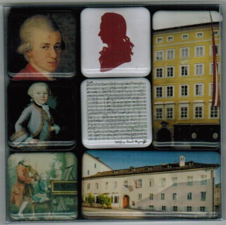 Magnet-Set Mozarthaus