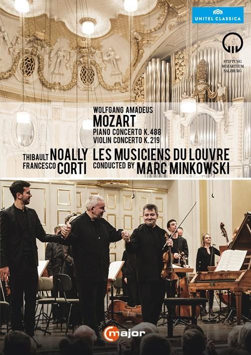 DVD Piano Concerto K. 488 und Violin Concerto K. 219 / Mozartwoche 2015
