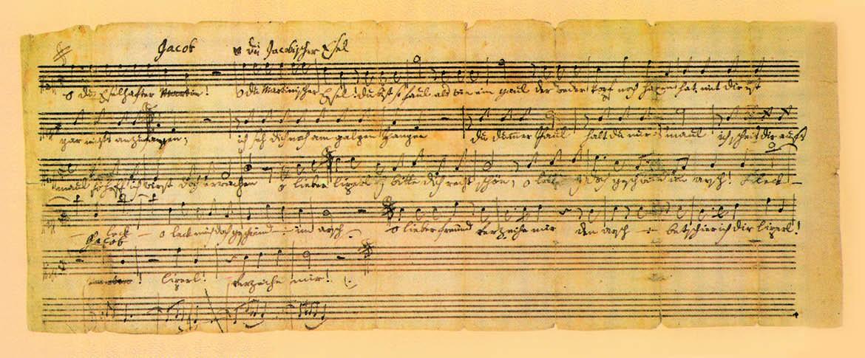 Postcard: Mozart-Kanon
