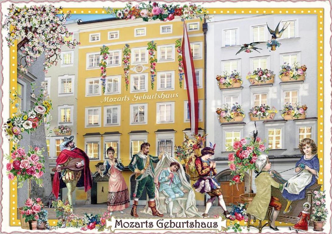 Postcard: Glitter Postcard