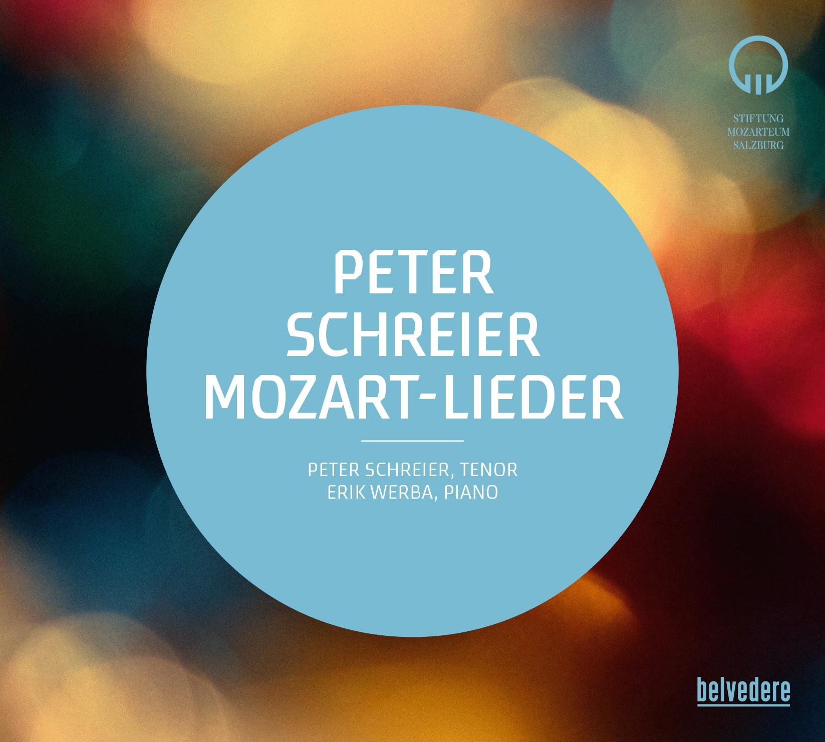 CD: Peter Schreier Mozart-Lieder