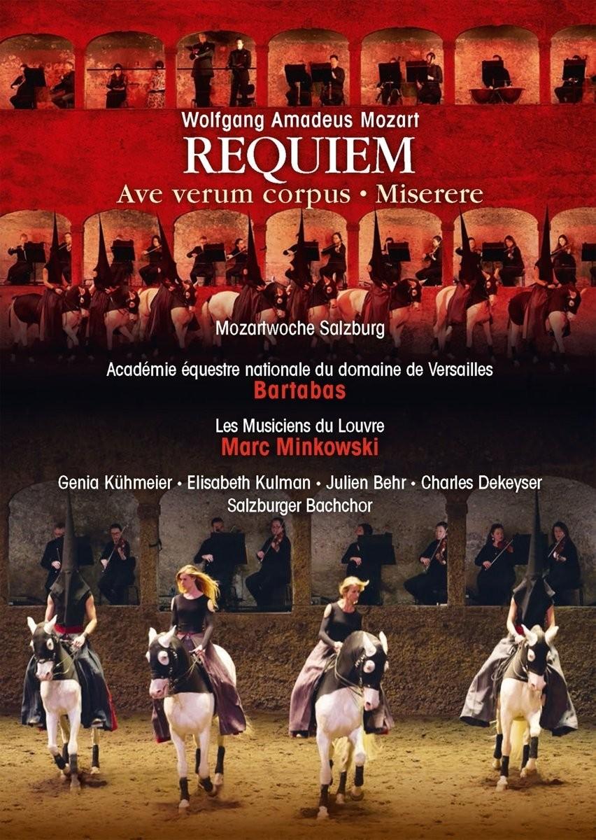 Bartabas und Marc Minkowski Mozarts Requiem DVD