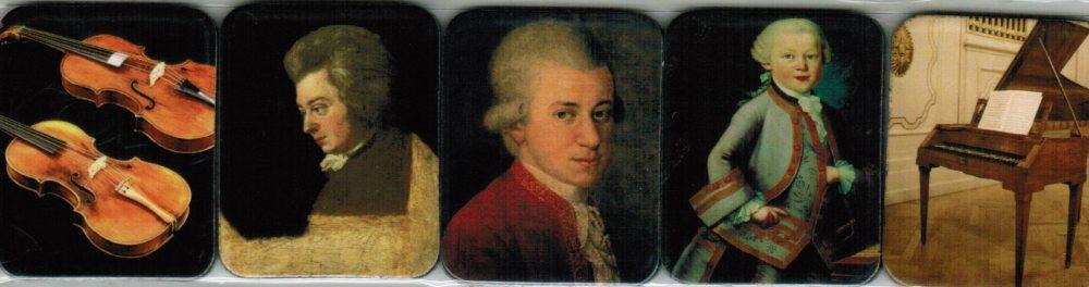 Magnet-Set Mozart