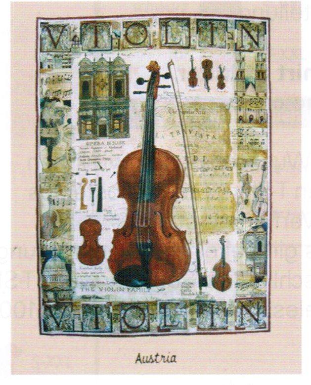 T-Shirt Violin